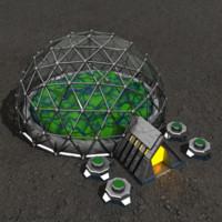 biosphere sci-fi building max
