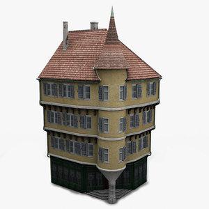 house facade 3d model