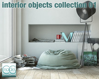 Interior objects collection 01