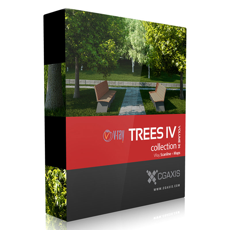 3d model of volume 34 trees iv