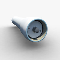 3d water filter model