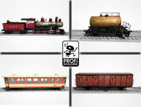 Trains Pack Volume 01