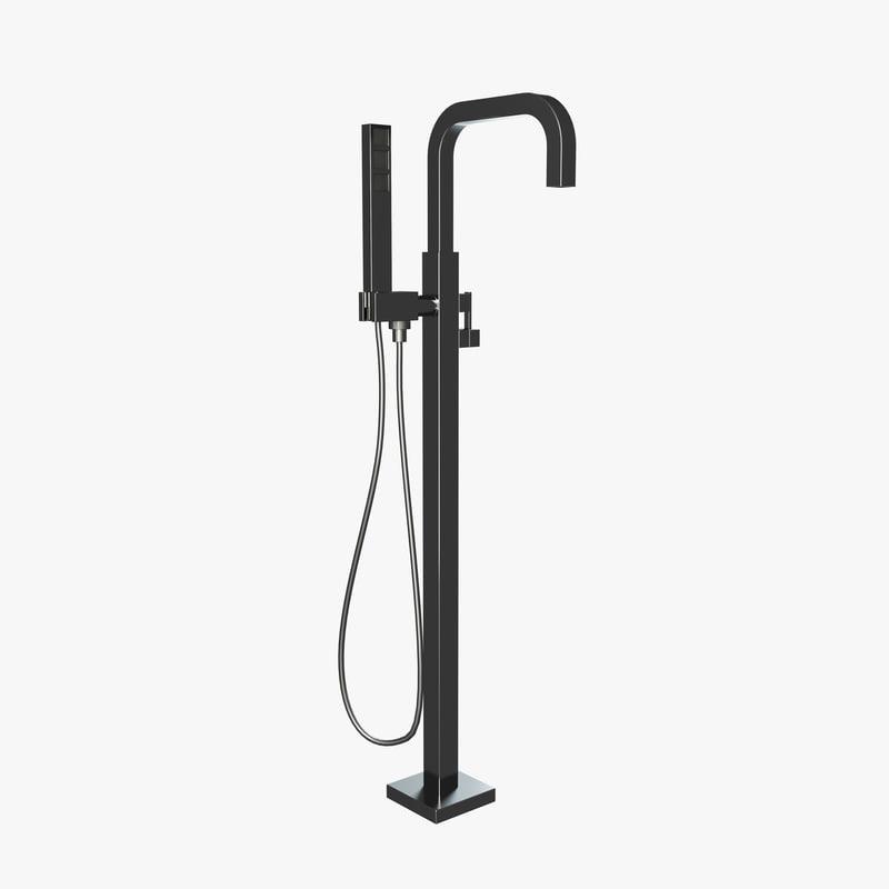 rubinetterie treemme shower 3d model