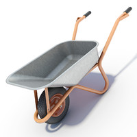 3ds wheelbarrow wheel barrow