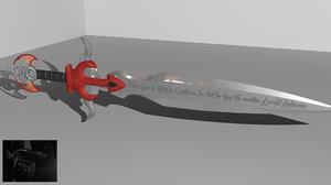 3d sword drag