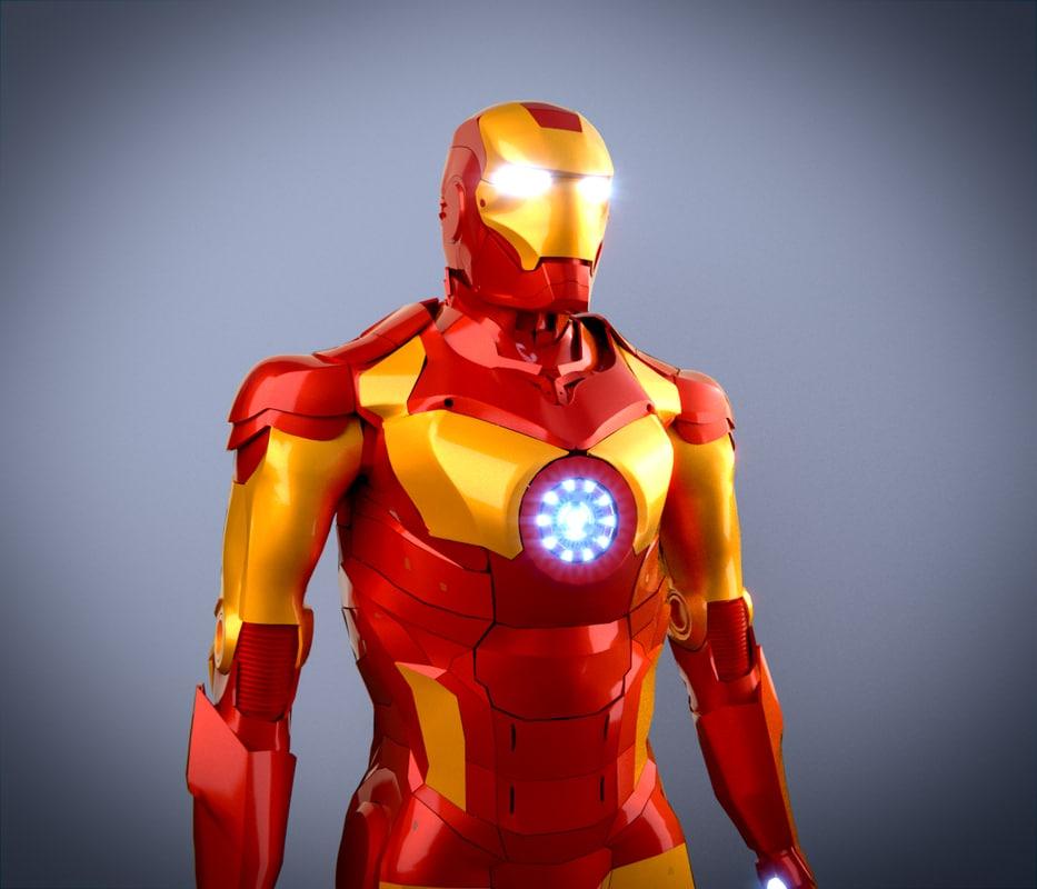 iron man 3d 3ds