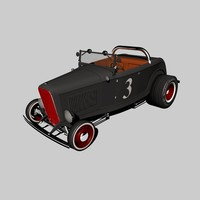highboy hotrod c4d