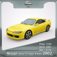 3ds max 2002 nissan silvia