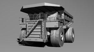 c4d cat 797b truck