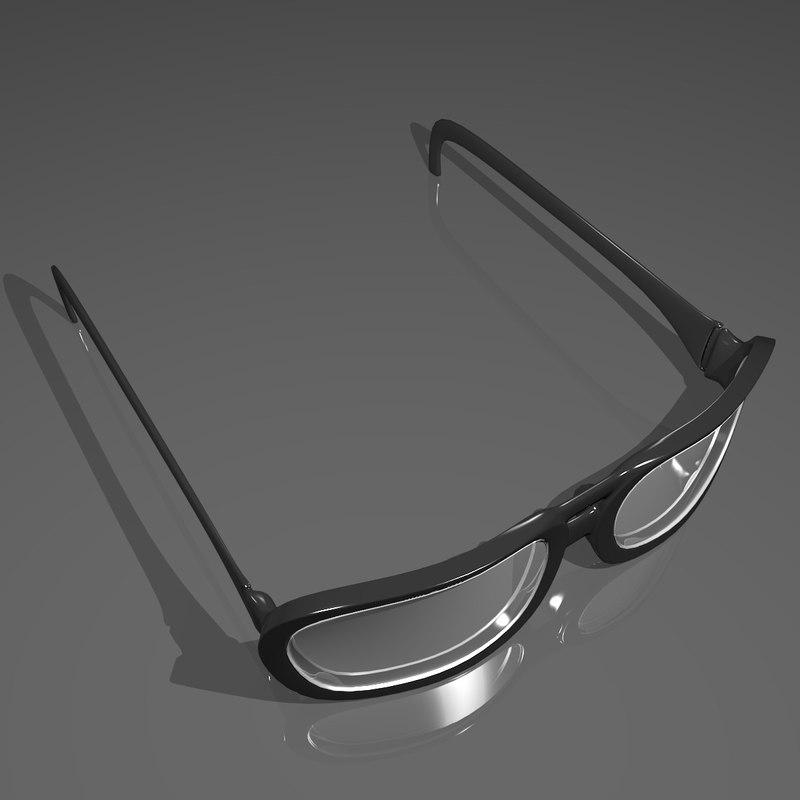 glasses obj free