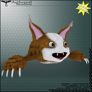 leporidae animations creature 3d x
