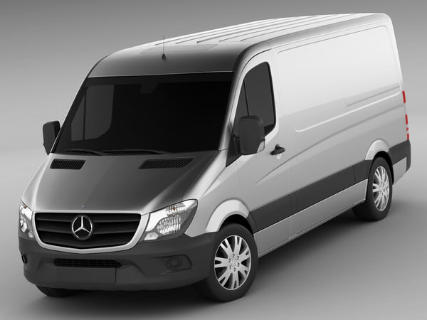mercedes sprinter 2014 3d 3ds