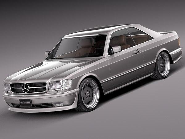 3d car mercedes mercedes-benz luxury
