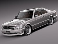3d car mercedes mercedes-benz luxury