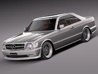 Mercedes-Benz W126 560 SEC AMG 1991