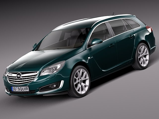3d model 2013 2014 touring opel