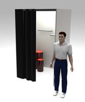 free dressing room 3d model