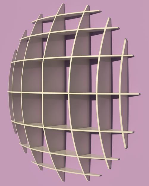 spherical shelves rfa