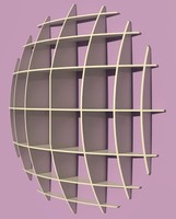 spherical shelves
