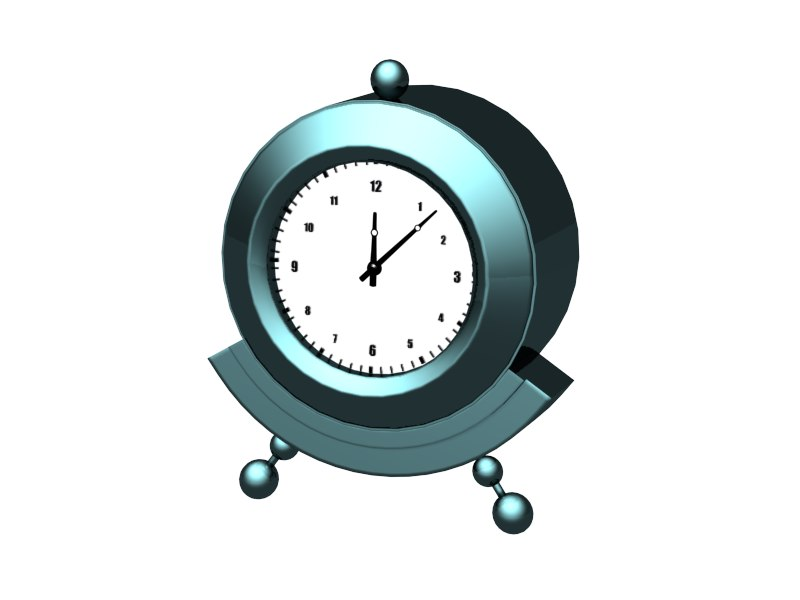 table clock- max