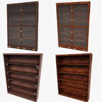 Luxurious Bookcase Cabinet Set Collection Case sideboard drawer