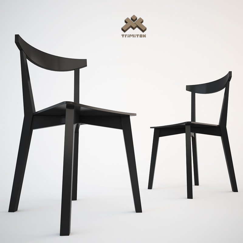 3d model chair evergreen