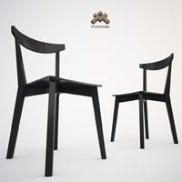 3d model chair evergreen