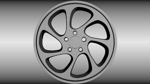 maya generic wheel