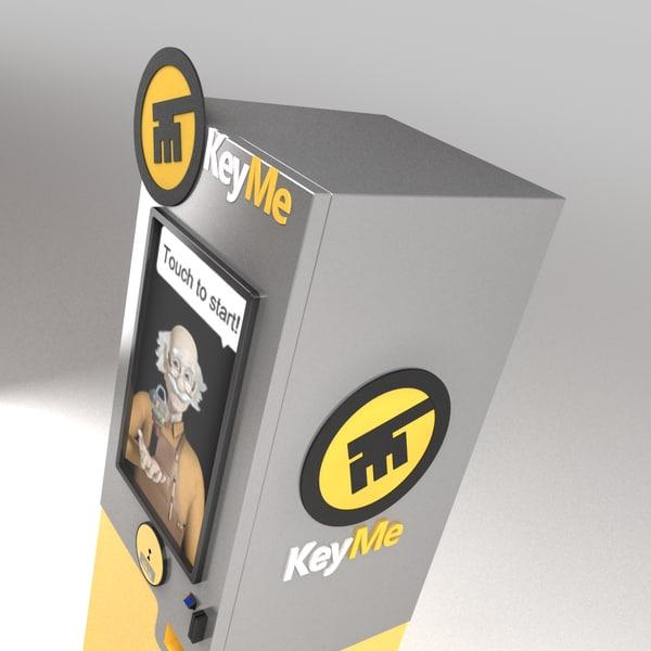3d model keyme kiosk