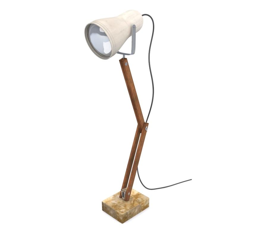 floor lamp lighting 3d x
