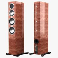 monitor gold gx 200 3d model