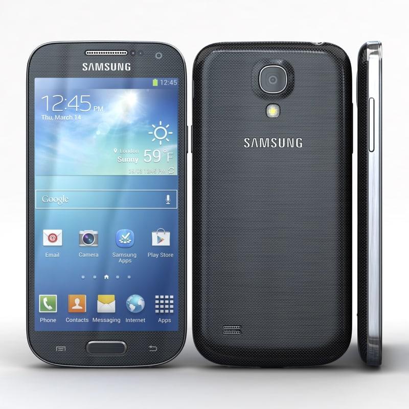 samsung galaxy i9190 i9192 3d c4d