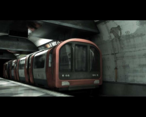 3d model london train station