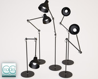 floor lamp obj