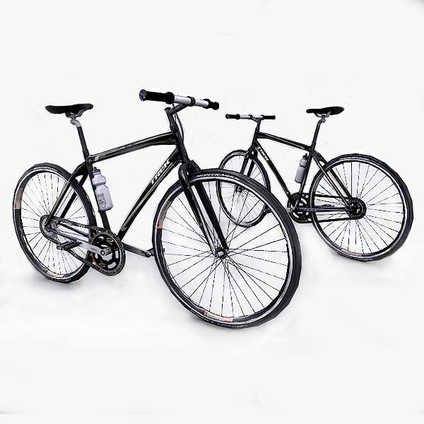 3d photorealistic trek bicycle model