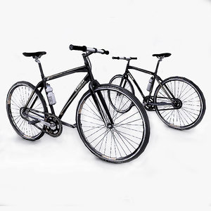 3d photorealistic trek bicycle model