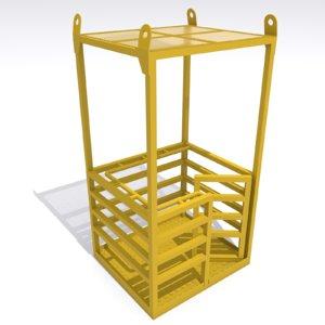 max man lifting cage