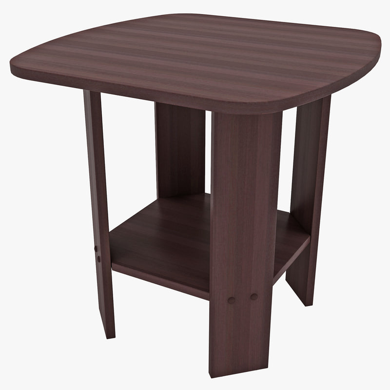 3d model furinno end table