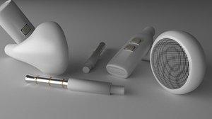 3d earphone wires