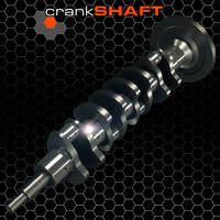 3d model crankshaft