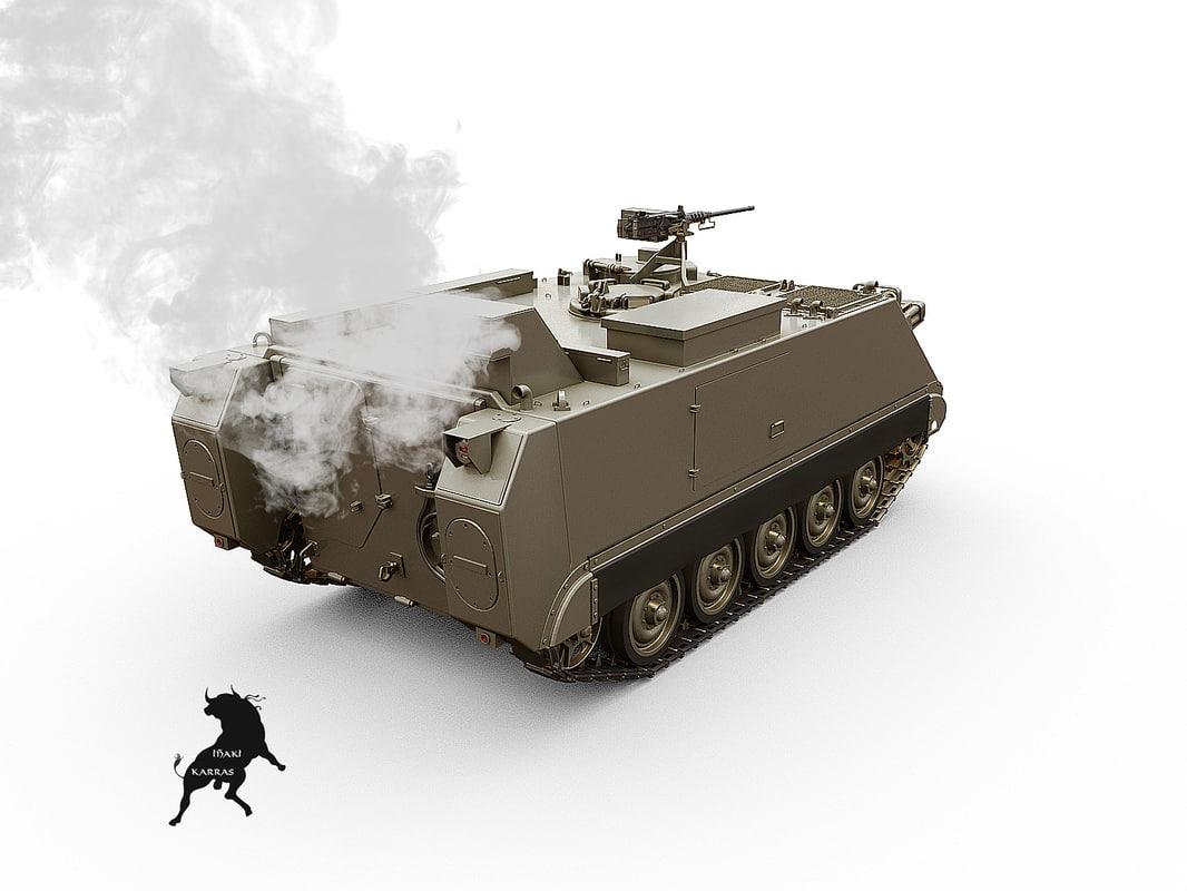 m-113 smoke 3d model