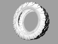 free tire bronco 3d model