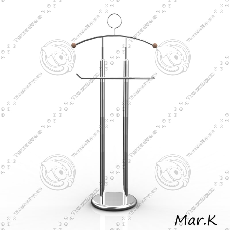 coat rack 3ds