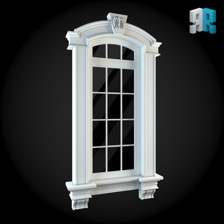 Window 3d max for Window 3d model