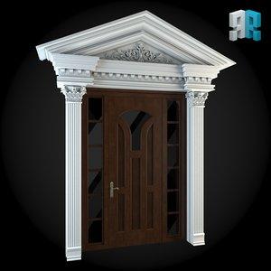 architectural 1 3d model