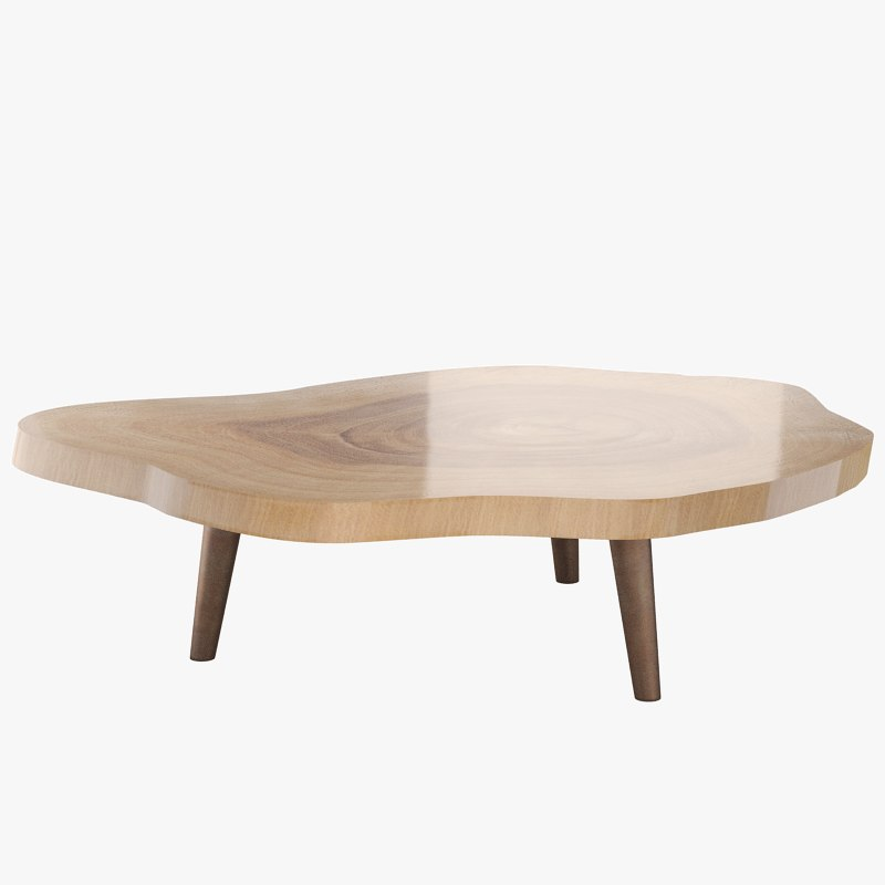 3d model hand table