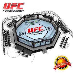 ufc octagon ring 3d model