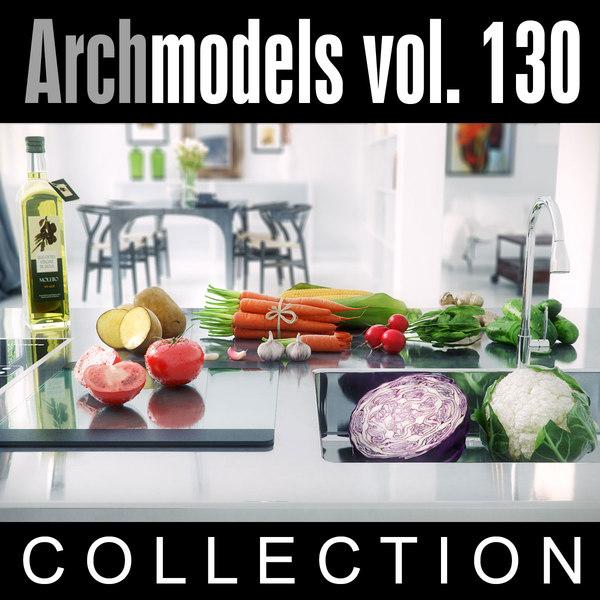archmodels vol 130 3d model