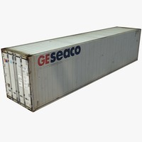 Rigged Cargo Container 40ft