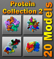 Protein Collection II - 20 Models